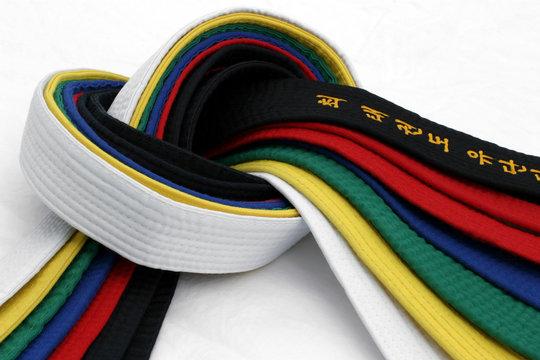 martial arts belts 3