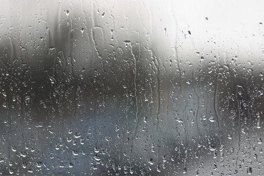 regen am fenster