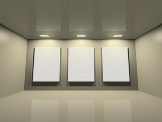website gallery - clean creme grey
