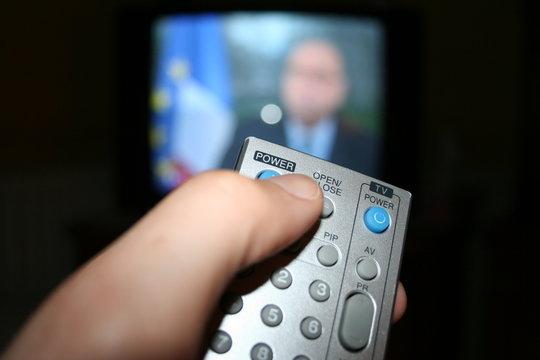 politique et télévision