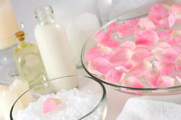 rose petal spa