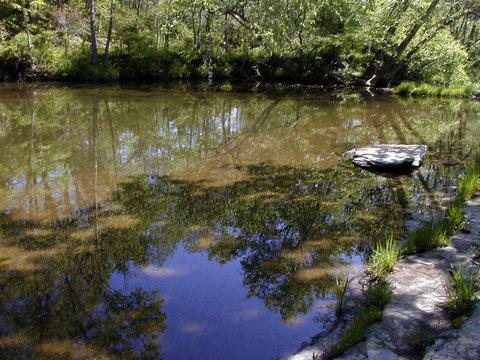 maysville creek floating rock -2