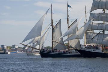 segelschiffe in kiel