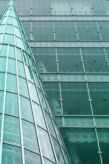 modern building abstract