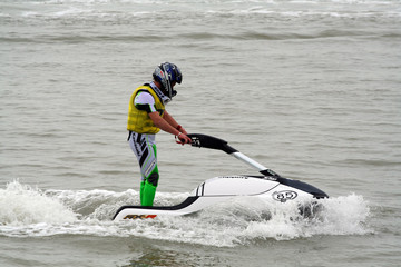 Printed roller blinds Water Motor sports jet-ski