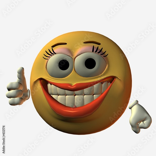 smiley daumen hoch Stockfotos und lizenzfreie Bilder auf Fotolia