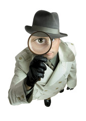 detective with magnifying glass 1