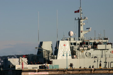 canada warship