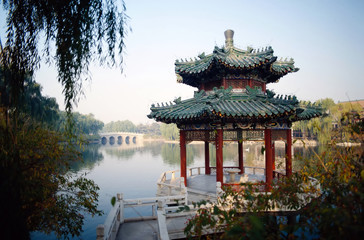 Fotorolgordijn Beijing the forbidden city