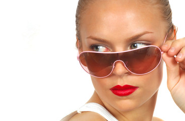 lady with sunglasses 3