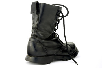one boot, isolated