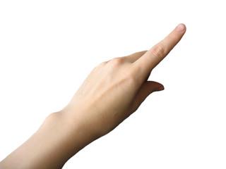 hand, index finger