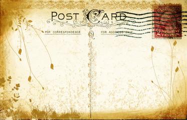 aged postcard
