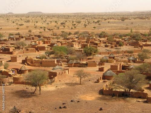 undeveloped village