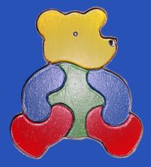 teddy-3d-hochglanz-poster