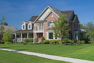suburban luxury home