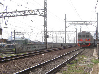 jakarta's electric train