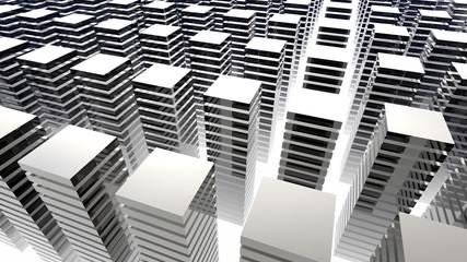 shiny towers