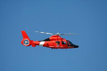 Photo sur Plexiglas Hélicoptère rescue helicopter