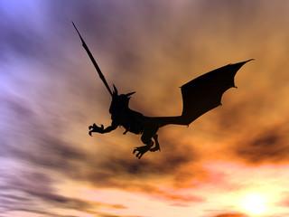 Papiers peints Dragons dragon attack 1