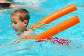 swimming boy eight