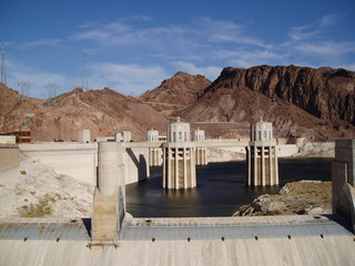 Printed roller blinds Dam hoover dam 9