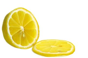 limon on a white background