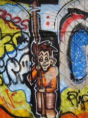 graffiti - keiner lustiger mann