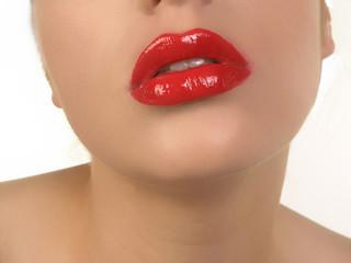 Foto op Canvas Fashion Lips show your makeup