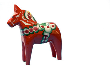 wooden horse of sweden