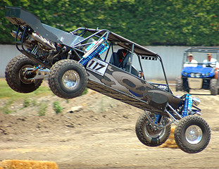 sand car landing