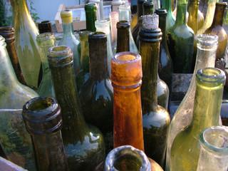 stock of bottles
