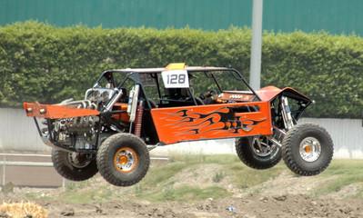 orange sand car