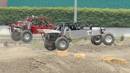 sand cars racing