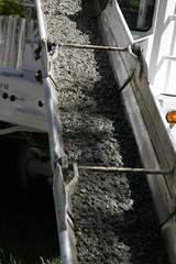 sliding concrete mud