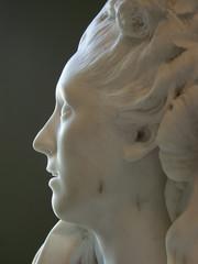 visage de marbre