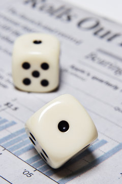 rolling the dice with your financial future