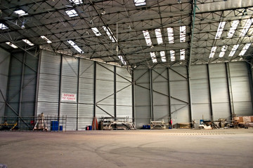 aviation hanger