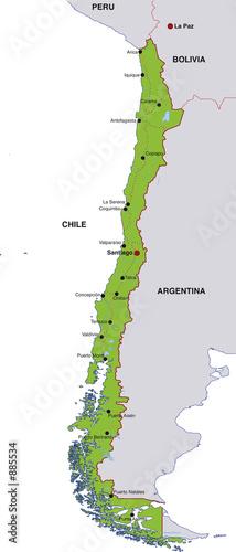 landkarte chile map chile landkarte chile
