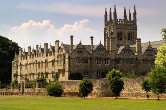 oxford university college buildings