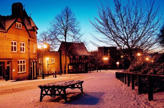 snow scene-nottingham