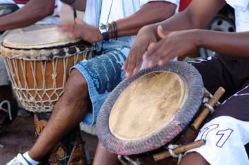 percussion africaine  -  musique traditionnelle