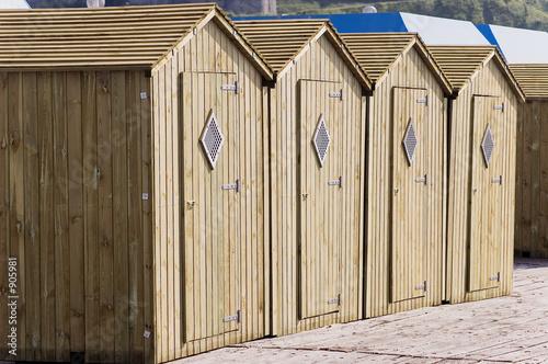 """Cabines De Plage En Bois - """"cabines de plage"""" photo libre de droits sur la banque d'images Fotolia com Image 905981"""