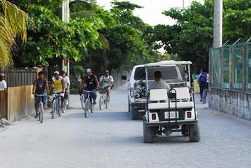 belize street scene