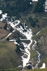 Fin invierno en montaña de Andorra
