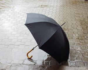 umbrella on the street