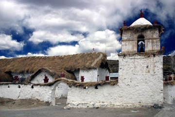 church in parc lauca