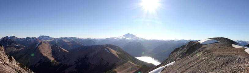 vue panoramique de bariloche