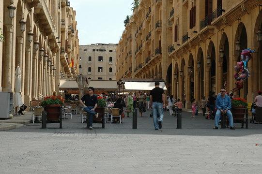 place de l'étoile - beyrouth - liban