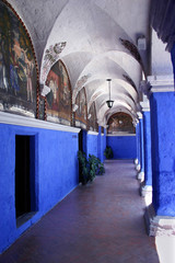 monasterio de santa catalina, peru
